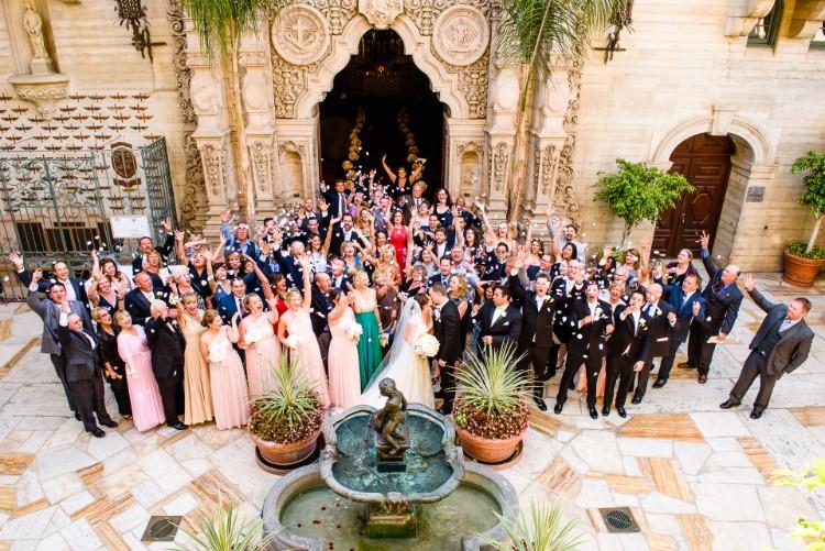 Elegant Riverside Wedding At The Mission Inn Hotel Spa Ca