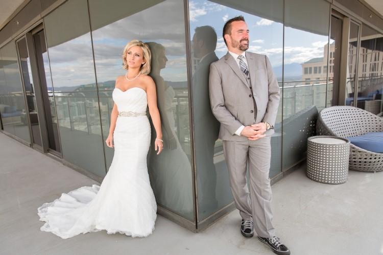 Unconventional Vegas Wedding At The Cosmopolitan Of Las