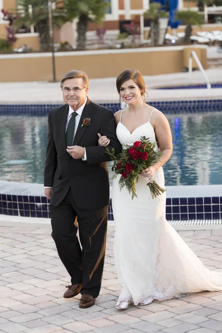 Outdoor Winter Wedding In Florida My Hotel Wedding